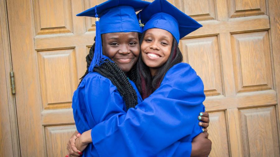 Graduation 2016 - Grade 8 - Taj and Della-117